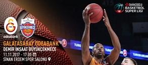 Maça doğru | Galatasaray Odeabank – Demir İnşaat Büyükçekmece