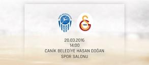 Maça Doğru: Samsun Canik Belediye – Galatasaray