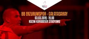 Maça doğru | BB Erzurumspor – Galatasaray