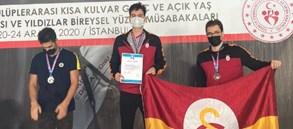 Berkay Ömer Öğretir'den 19+ Yaş Yeni Türkiye rekoru