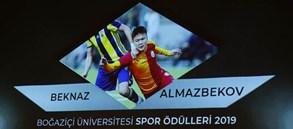 Boğaziçi Üniversitesi'nden Beknaz Almazbekov'a Fair-Play ödülü