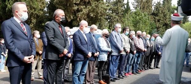 Türker Arslan son yolculuğuna uğurlandı