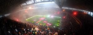 Arena'da Büyük Şampiyonluk Kutlaması