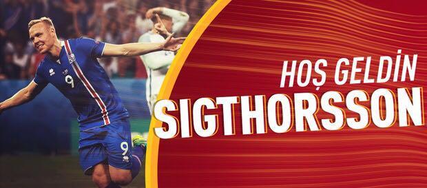 Kolbeinn Sigthorsson Galatasaray'da