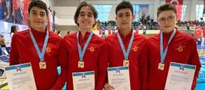 Türkiye Turkcell Kısa Kulvar Küçük Bireysel Türkiye Şampiyonası'nda dereceler
