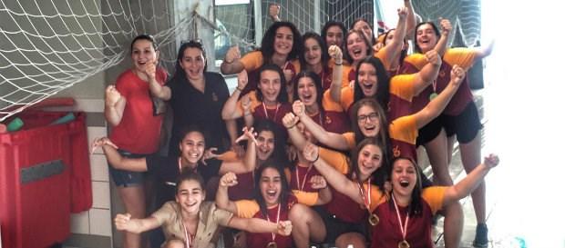 U19 Bayan Sutopu Takımımız Namağlup Şampiyon