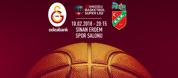 Maça doğru | Galatasaray Odeabank – Pınar Karşıyaka