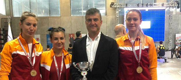 Türkiye Salon Kürek Şampiyonası'nda 5 birincilik