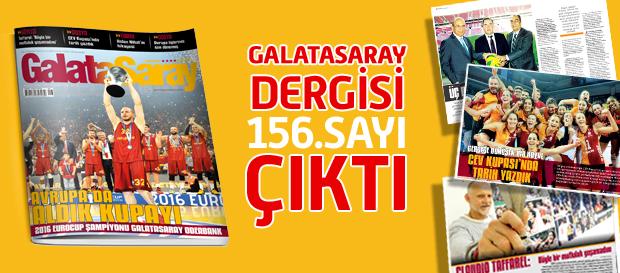 Galatasaray Dergisi'nin 156. Sayısı Bayilerde