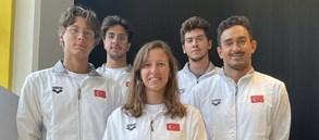 5 milli yüzücümüz Avrupa Büyükler Yüzme Şampiyonası'nda mücadele edecek