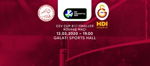 Maça doğru   C.S. Municipal Arcada GALATI - Galatasaray HDI Sigorta