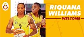 Riquna Williams Galatasaray'da!