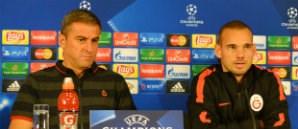 Basın Toplantısı: Hamza Hamzaoğlu – Wesley Sneijder