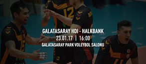 Maça doğru | Galatasaray HDI Sigorta – Halkbank