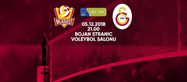 Maça doğru | Mladost Zagreb - Galatasaray