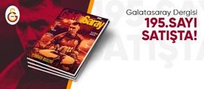 Galatasaray Dergisi'nin 195. sayısı GS Store'larda satışta