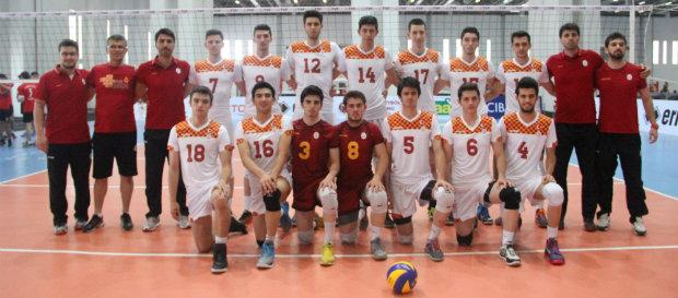 Galatasaray Gençler Şampiyonası'na Galibiyetlerle Devam Ediyor