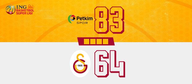 Aliağa Petkim Spor 83-64 Galatasaray