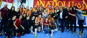 Galatasaray HDI Sigorta CEV Cup'ta 4'lü Finaller Turu'na yükseldi