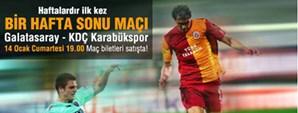 Galatasaray – KDÇ Karabükspor Maç Günü Ağırlama Paketleri Satışta