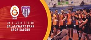 Maça Doğru   Galatasaray HDI Sigorta - Afyon Belediye Yüntaş
