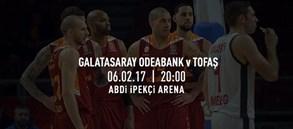 Maça doğru | Galatasaray Odeabank – Tofaş