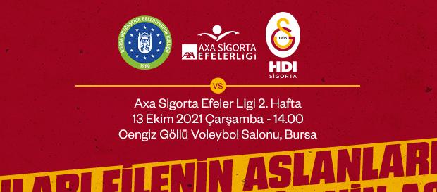Maça Doğru   Bursa Büyükşehir Belediye - Galatasaray HDI Sigorta