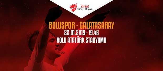 Maça doğru   Boluspor - Galatasaray