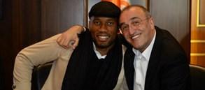 Başkanımız ve Yönetimimiz Didier Drogba ile Türk Telekom Stadyumu'nda bir araya geldi