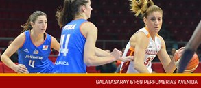 Galatasaray 61-59 Perfumerias Avenida