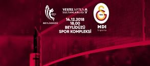 Maça doğru | Kameroğlu Beylikdüzü Voleybol İhtisas - Galatasaray HDI Sigorta