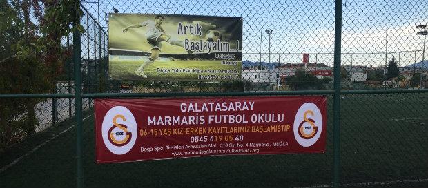 Marmaris Galatasaray Futbol Okulu açıldı