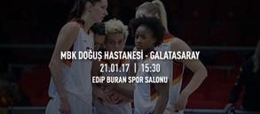 Maça doğru | MBK Doğuş Hastanesi – Galatasaray