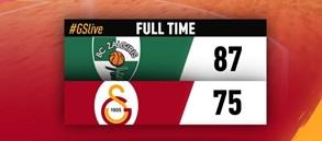 Zalgiris Kaunas 87–75 Galatasaray Odeabank