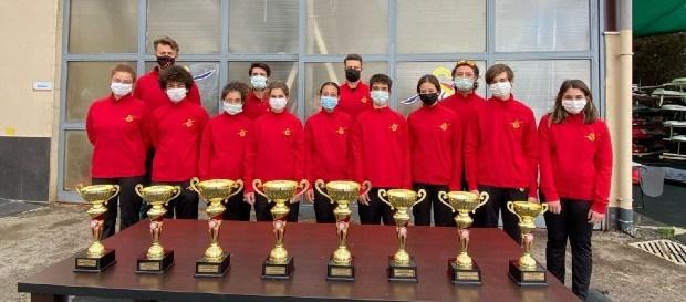 420 - Techno293 İstanbul İl Birinciliği ve Valilik Kupası Yelken Yarışları'nda 8 Kupa