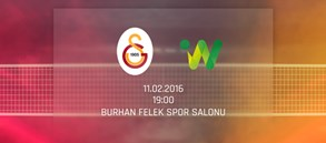 Maça Doğru: Galatasaray - Impel Wroclaw