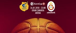 Maça doğru   Herbalife Gran Canaria – Galatasaray Odeabank