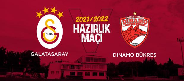 Galatasaray - Dinamo Bükreş maçı GS TV'de!