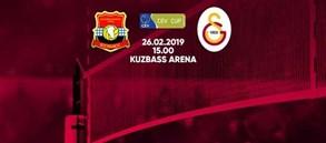 Maça doğru | Kuzbass Kemerovo - Galatasaray