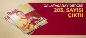 Galatasaray Dergisi'nin 203. sayısı GS Store'larda satışta