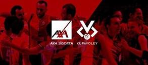 Filede AXA Sigorta Kupa Voley Final Etabı maç programı açıklandı