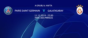 Maça Doğru | Paris Saint-Germain - Galatasaray