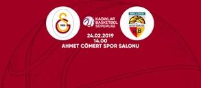 Maça doğru | Galatasaray - Bellona Kayseri Basketbol