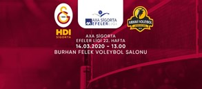 Maça doğru | Galatasaray HDI Sigorta - Arhavi Voleybol