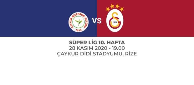 Maça Doğru | Çaykur Rizespor - Galatasaray