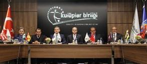 Kulüpler Birliği Vakfı Yeni Merkezinde İlk Toplantısını Gerçekleştirdi