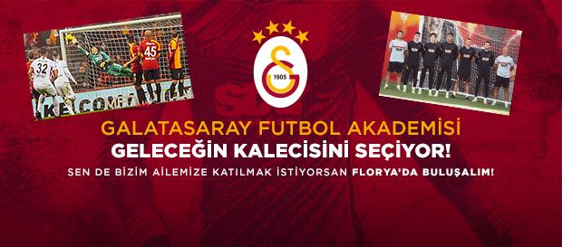 2021 Galatasaray Futbol Akademisi Kaleci Seçmeleri kayıtları başladı