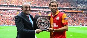 Johan Elmander Türk Telekom Stadyumu'nda