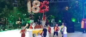 Yalova'da çifte şampiyonluk kutlaması