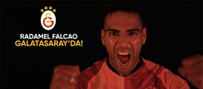 Radamel Falcao Galatasaray'da